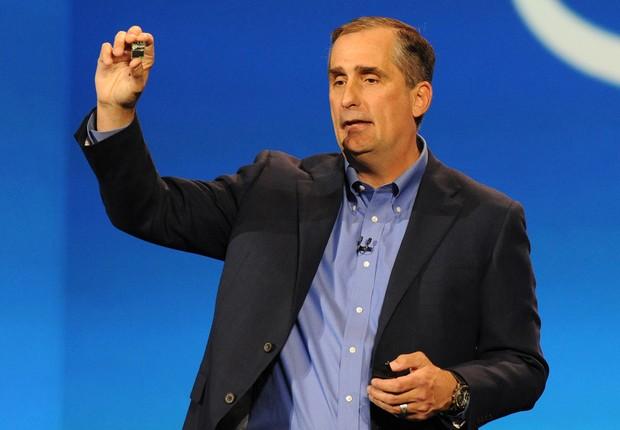 Brian Krzanich, agora ex-CEO da Intel (Foto: Intel Free Press/Flickr)