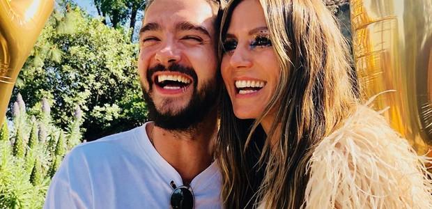 Heidi Klum e Tom Kaulitz (Foto: Reprodução/Instagram)