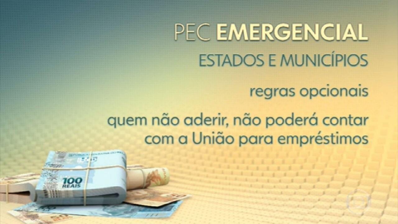 PEC Emergencial: Senado vota proposta que abre caminho para novo auxílio emergencial