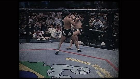 """""""44 segundos para a história: o primeiro UFC no Brasil"""". Assista na íntegra o Especial"""