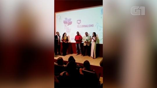 Reportagem da Inter TV vence categoria do 1º Prêmio de Jornalismo Ambiental