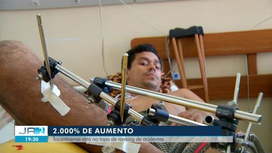 Tocantins é o estado que mais gasta com tratamento de vítimas de acidentes de trânsito