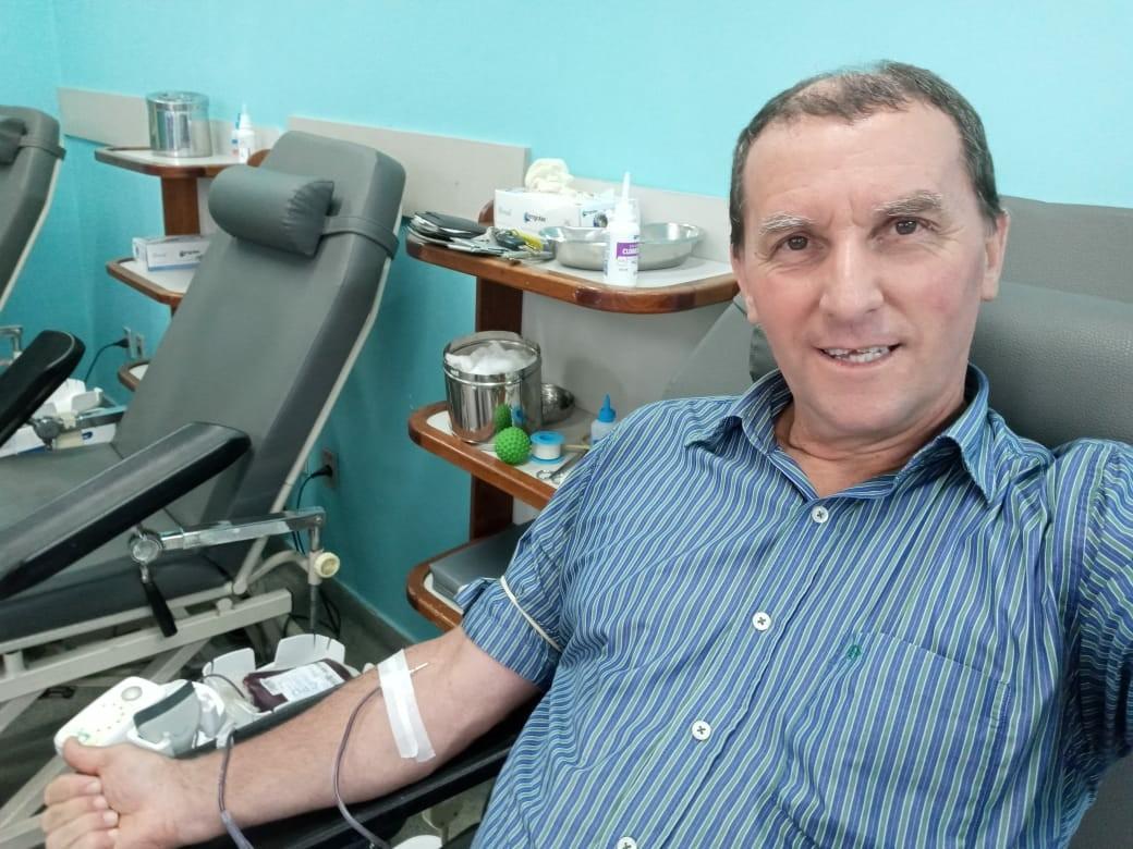 Doador 'sangue bom' de Barra Mansa é figura conhecida em hemonúcleos há mais de 40 anos
