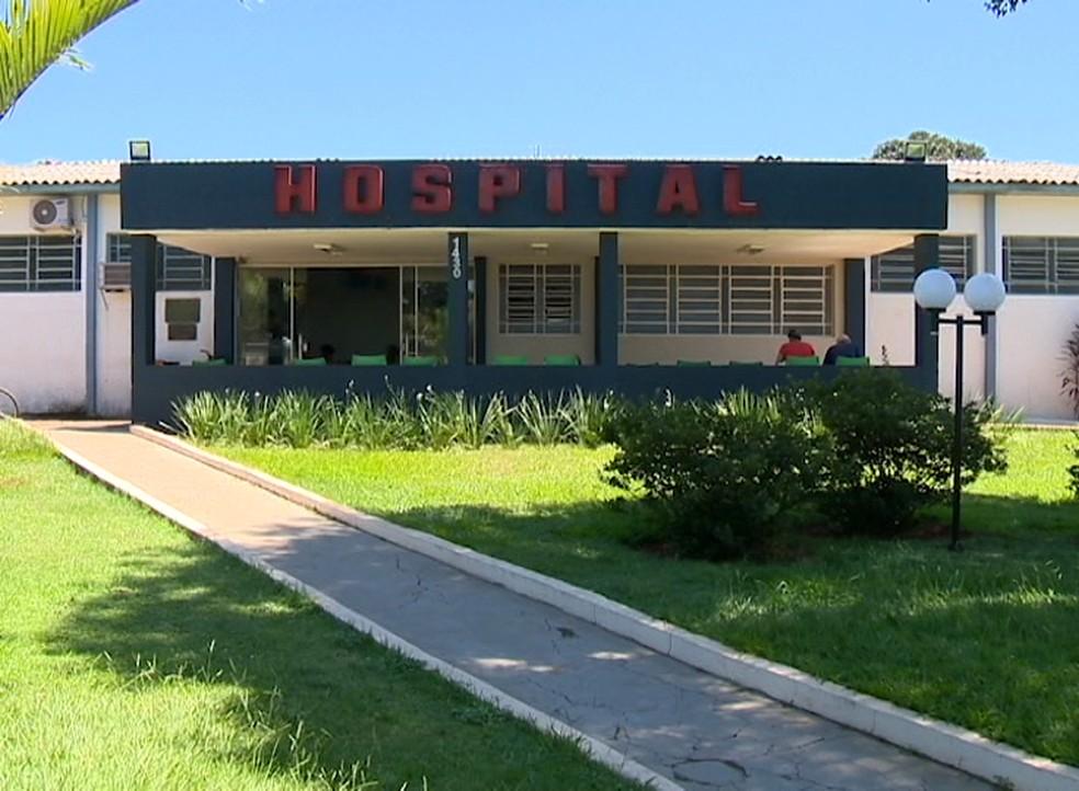 Hospital Regional de Teodoro Sampaio — Foto: Arquivo/TV Fronteira