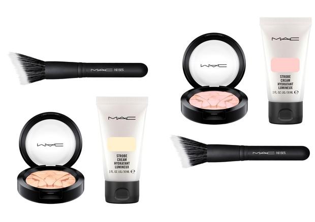 Kits da MAC para presentear quem ama pele glow (Foto: Divulgação)