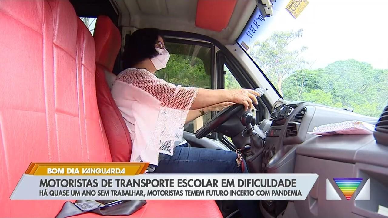 Motoristas de transporte escolar estão com futuro incerto por causa da pandemia