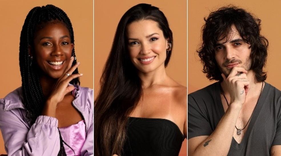 Camila, Juliette e Fiuk — Foto: Globo/João Cotta