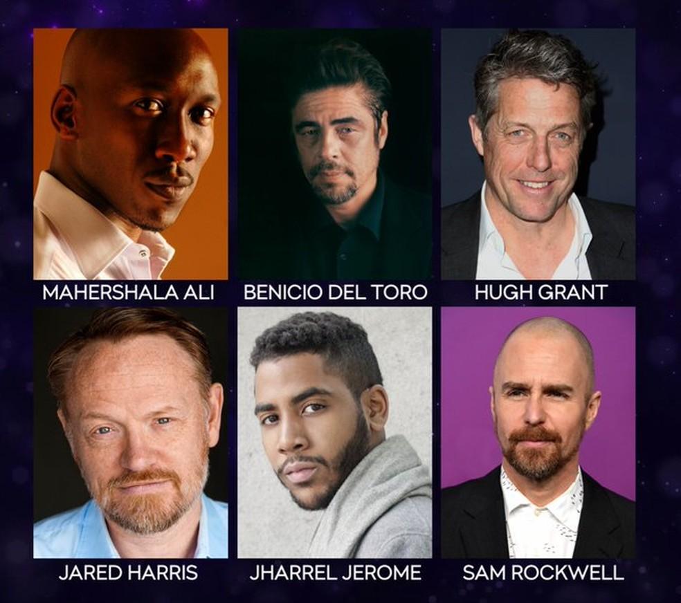 Indicados a melhor ator em série limitada ou telefilme no Emmy 2019 — Foto: Divulgação