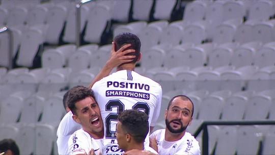 O gol de Corinthians 1 x 0 Vasco pela 35ª rodada do Brasileirão 2018
