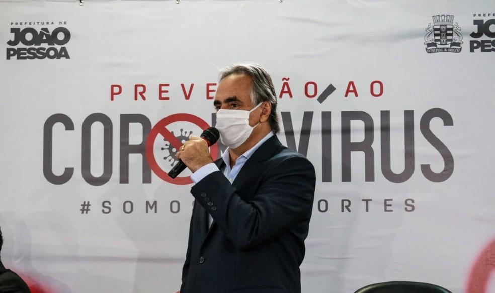 Prefeito de João Pessoa anuncia prorrogação de medidas de ...