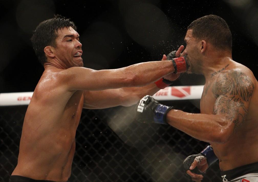 Lyoto Machida já mira Michael Bisping para a sua próxima luta no UFC (Foto: Tarso Sarraf/O Liberal)