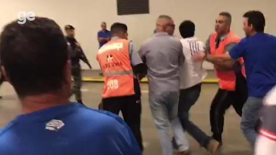 Reunião com organizadas acaba sem acordo, e Cruzeiro pede reforço à PM para jogo no Mineirão