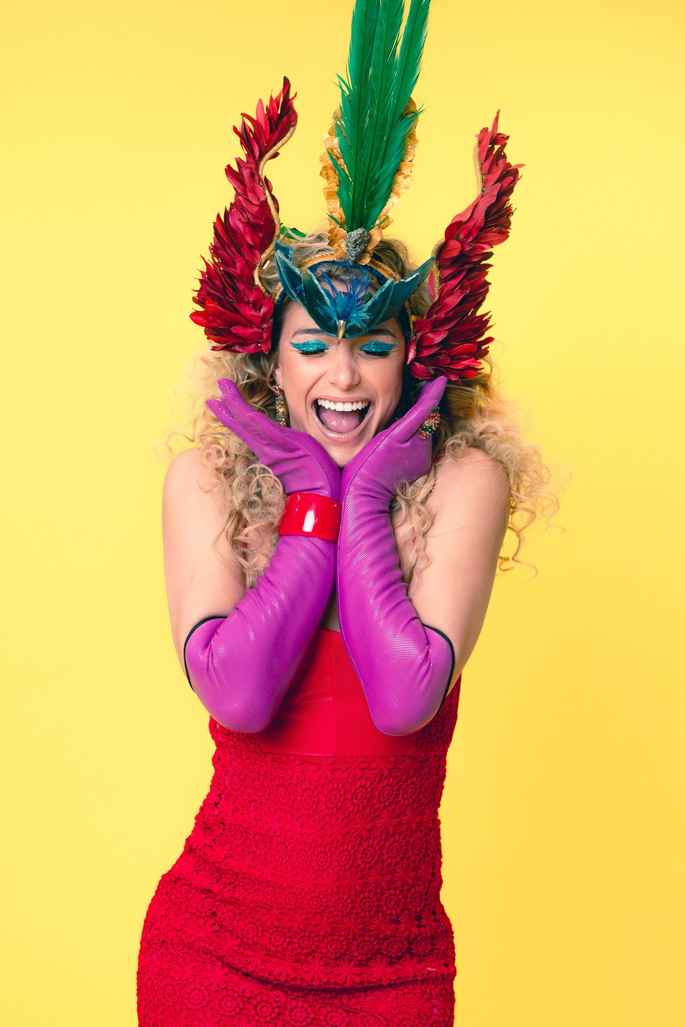 Glamour Garcia conta que o Carnaval é como se fosse seu Ano Novo: tempo de recomeçar — Foto: Fabiano Battaglin/Gshow