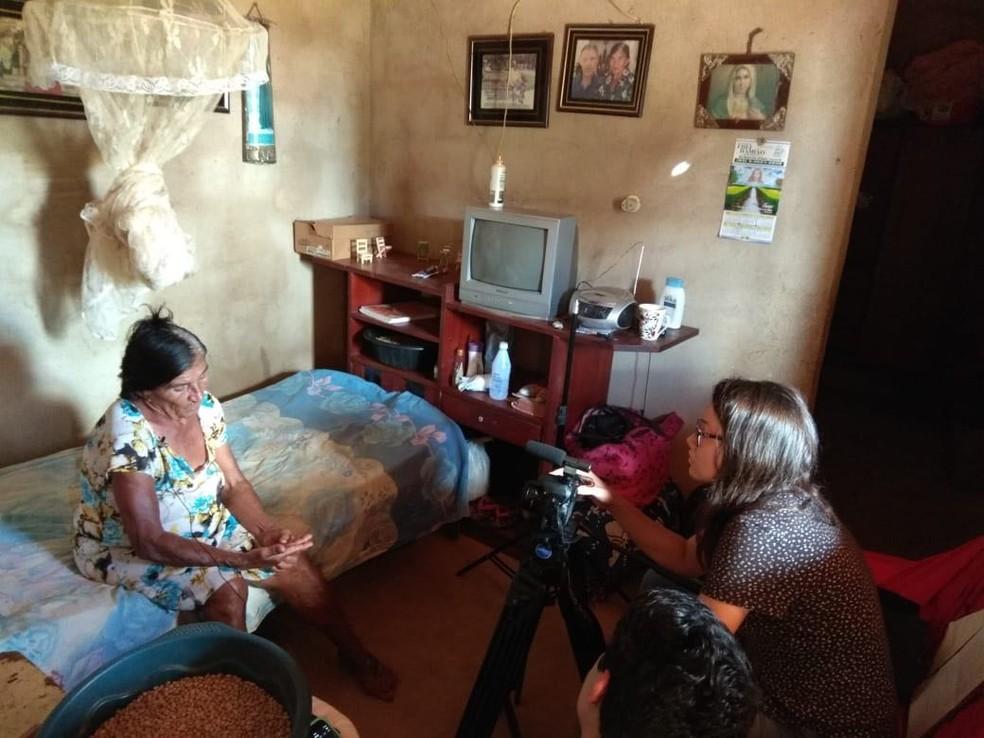 Família de personagem também foi ouvida durante o documentário (Foto: Ana Calline/Arquivo Pessoal)