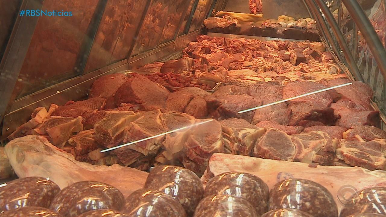 Preço da carne aumenta no RS