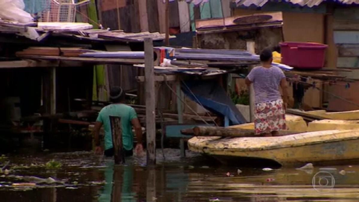 Com o período das cheias, quase todos os municípios do Amazonas estão alagados