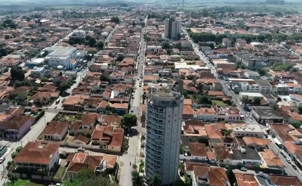 A cidade de Mococa — Foto: Arquivo EPTV