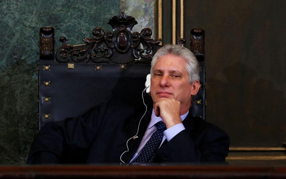 Em suas últimas declarações, Díaz-Canel tem dito que fará um governo de continuidade (Foto: Reuters/Stringer      )
