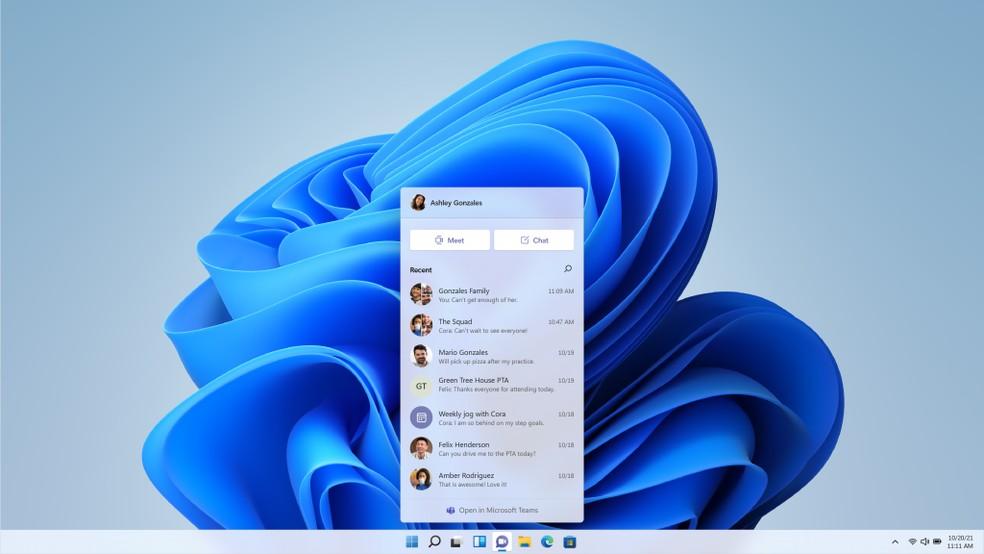 Lançamento do Windows 11: sistema ficará gratuito no mínimo até outubro de 2022 — Foto: Divulgação/Microsoft