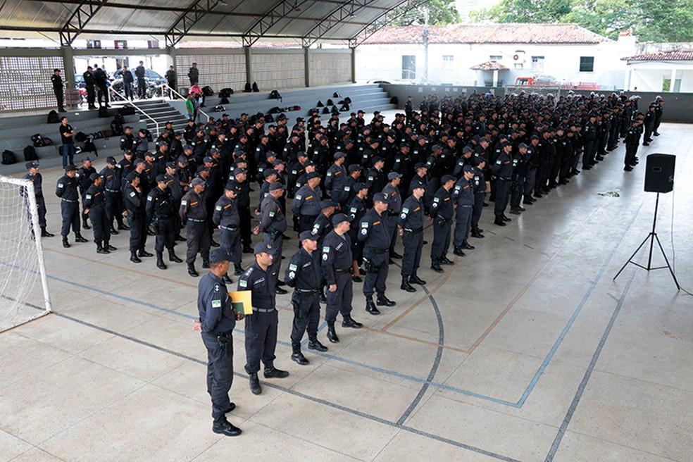 Concurso público da PM do Rio Grande do Norte tem mil vagas abertas (Foto: Demis Roussos/Governo do RN)