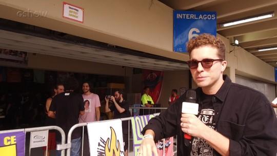 Thiago Fragoso mostra backstage das bandas no Lollapalooza 2019