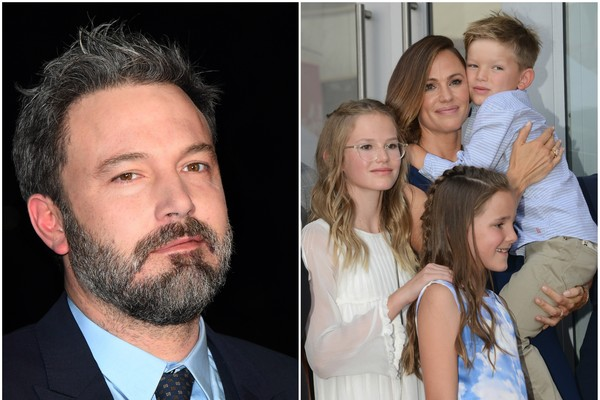 Ben Affleck, Jennifer Garner e os filhos (Foto: Getty Images)