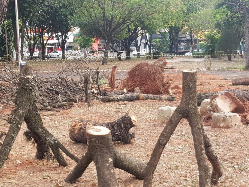 Prefeitura de Bauru suspende obras na Praça Portugal após liminar da Justiça