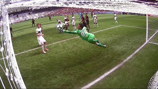 Prass, Cássio, Wilson, Diego Alves e Fábio: Vote na melhor defesa da rodada