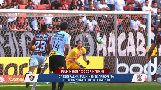 """Loffredo analisa vitória do Fluminense sobre o Corinthians com gol de Ganso e frango de Cássio: """"Dois momentos raros"""""""
