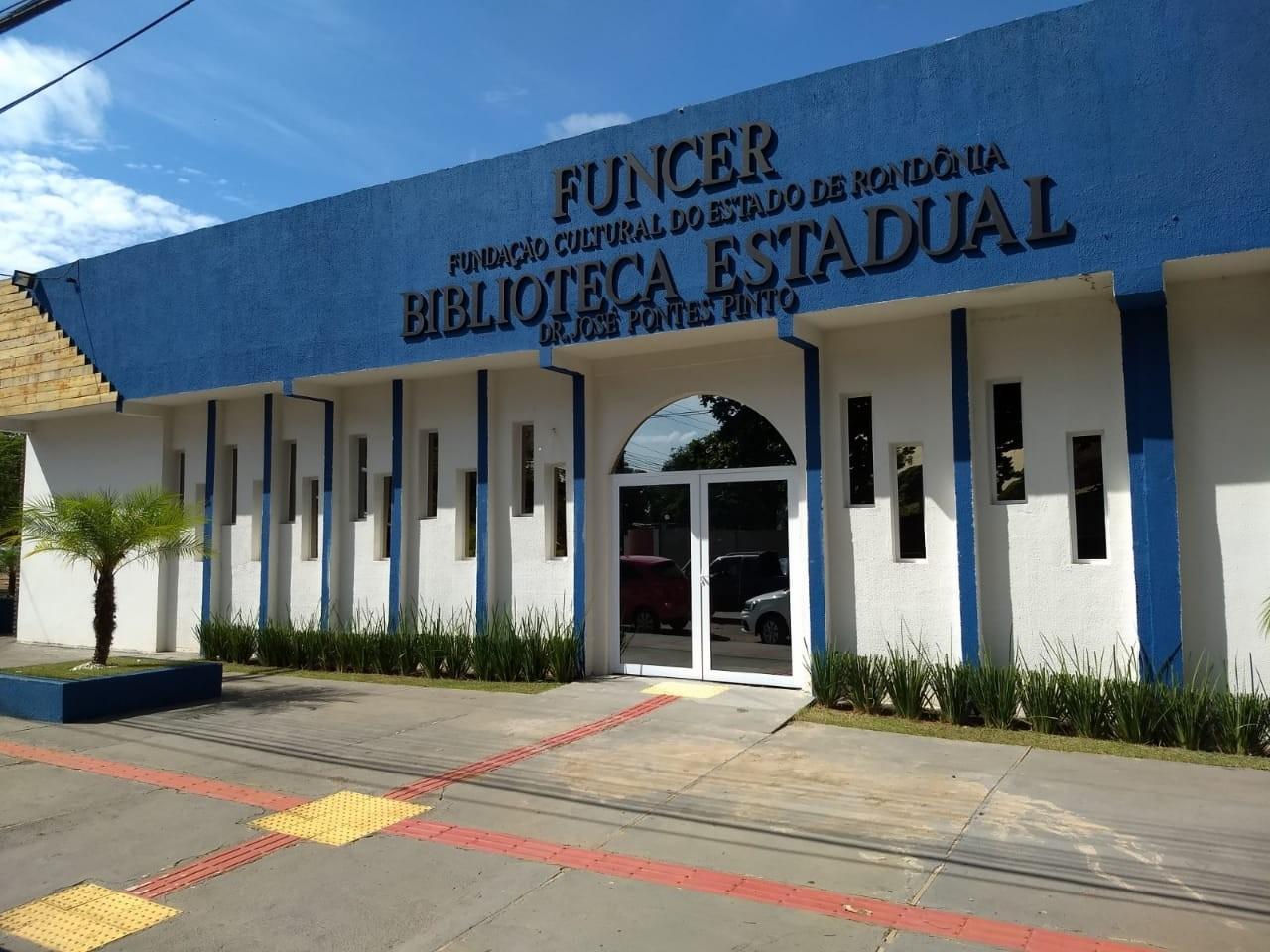 Semana do Livro terá reabertura da biblioteca mais antiga de RO, diz governo