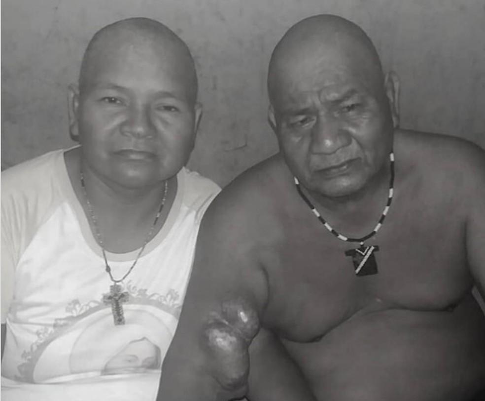 Juliana e Roque Teromnhi Eiwe morreram nessa quarta-feira (10) em Cuiabá — Foto: Arquivo Pessoal