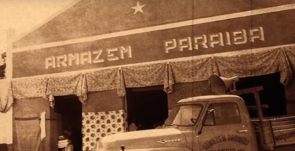 Primeiro Armazem Paraíba  — Foto: Arquivo Pessoal