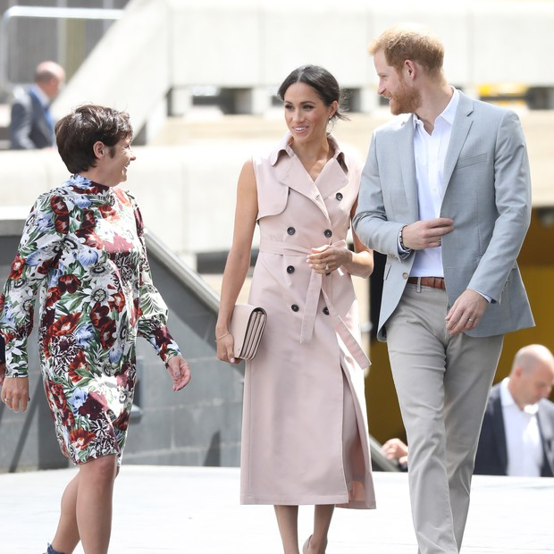 LONDON, ENGLAND - JULY 17:  Meghan, Duchess of Sussex and Prince Harry, Duke of Sussex visit the Nelson Mandela Centenary Exhibition at Southbank Centre's Queen Elizabeth Hall on July 17, 2018 in London, England. The exhibition explores the life and times (Foto: Getty Images)