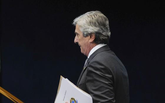O senador Fernando Collor, em foto de 2013 (Foto: Arthur Monteiro/Agência Senado)