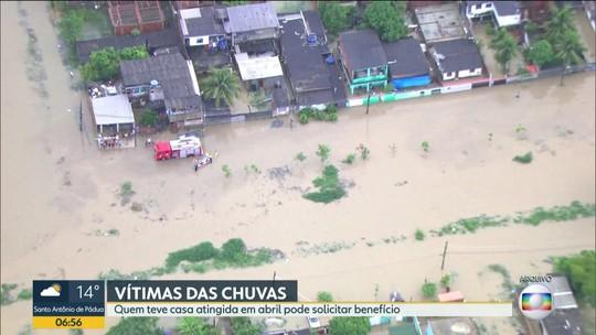 Pessoas que tiveram suas casas atingidas pela chuva de abril podem solicitar saque do FGTS