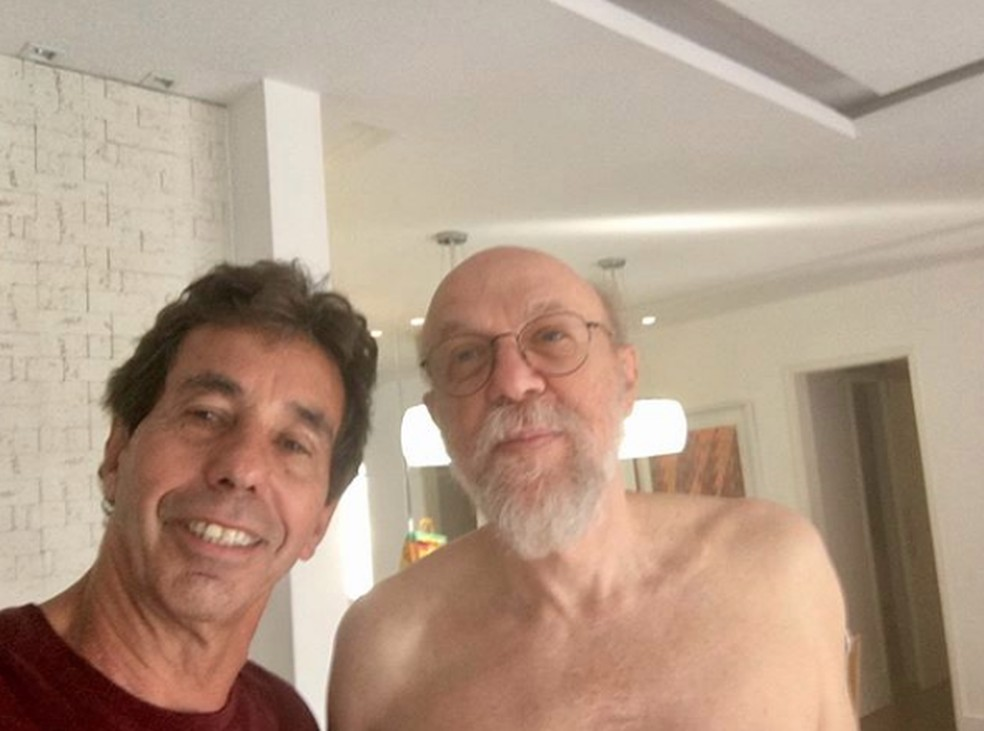 Dr. Eduardo — Foto: Com meu grande amigo dr. Eduardo Kanaan, pai de Daniel.