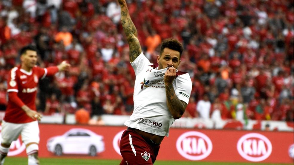 Wellington Nem, atacante do Fluminense — Foto: Mailson Santana / FFC