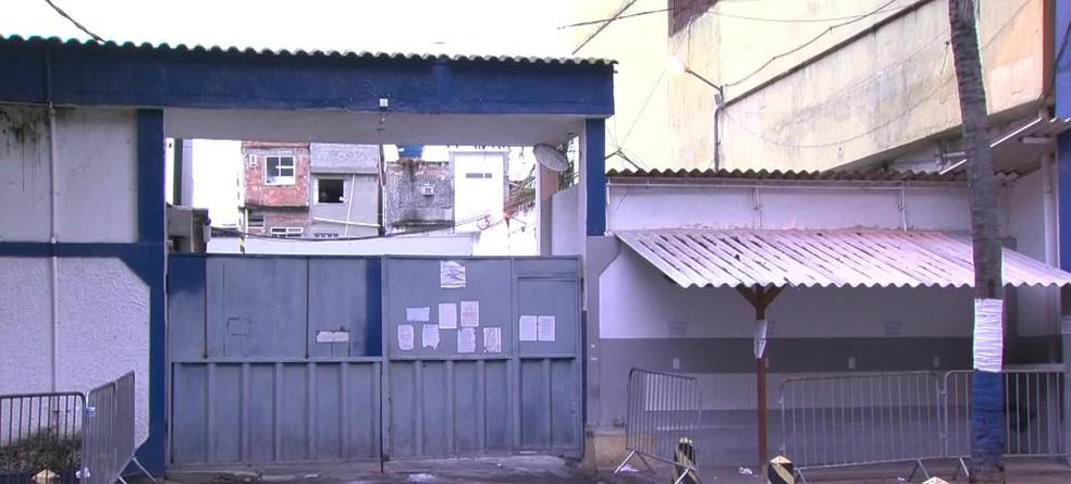 Cadeia Pública José Frederico Marques, em Benfica (Foto: Reprodução/ TV Globo)