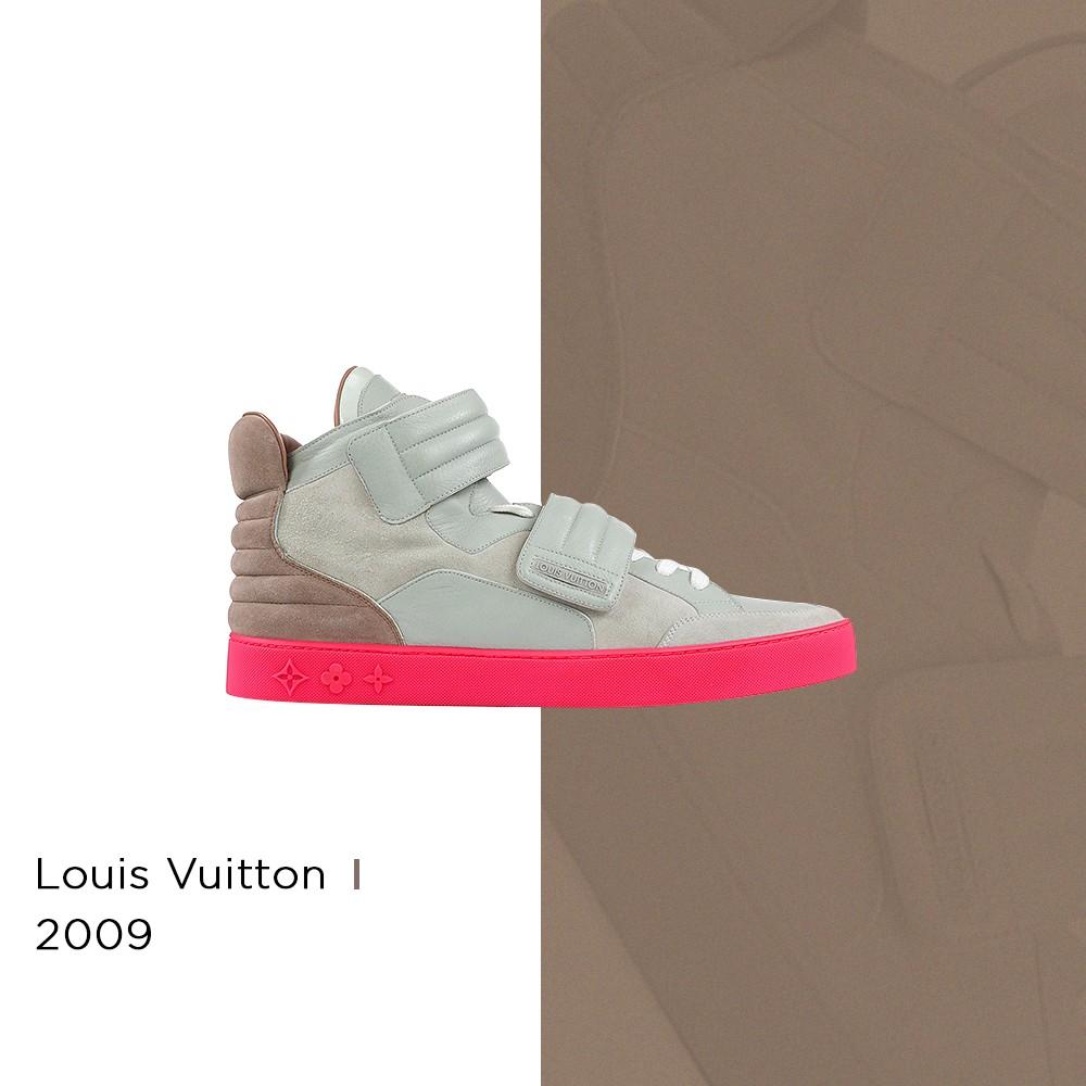 Kanye West x Louis Vuitton - 2009 (Foto: Reprodução | arte: @matthhenriquee)