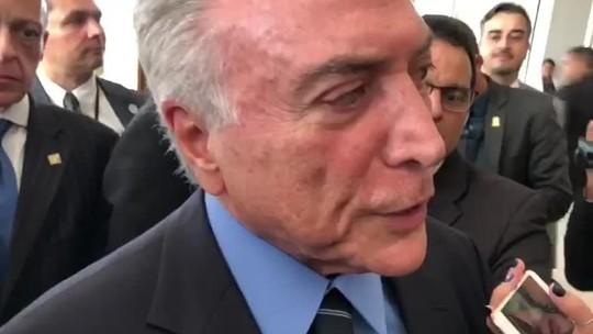 Temer confirma R$ 1 bilhão para bancar a intervenção no RJ