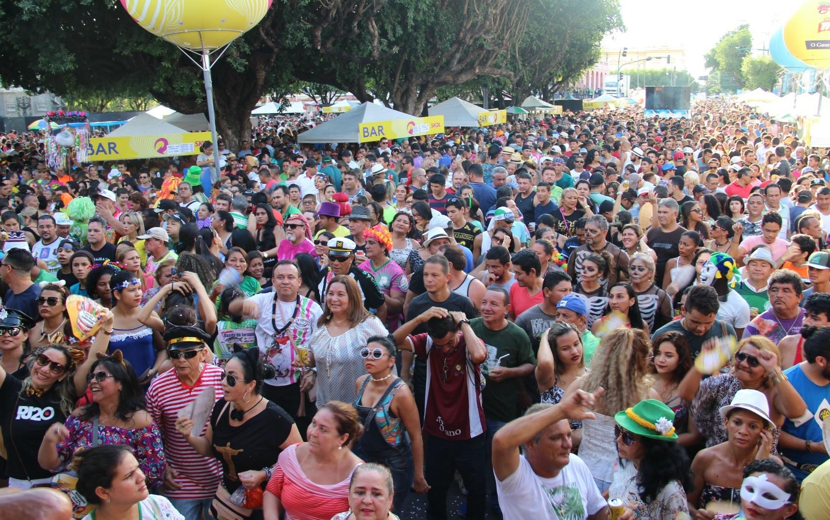 Blocos de carnaval poderão ser realizados em Manaus até 00h, diz SSP-AM