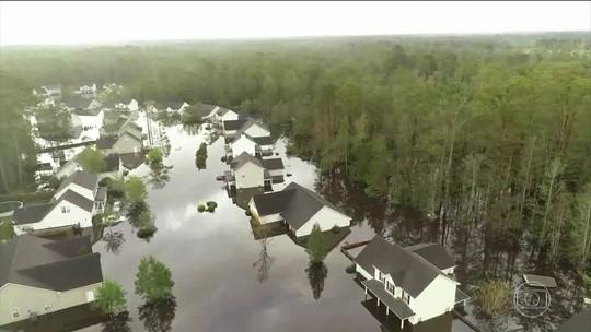 Florence perde força, mas ainda causa chuvas intensas nos EUA; mortes chegam a 31