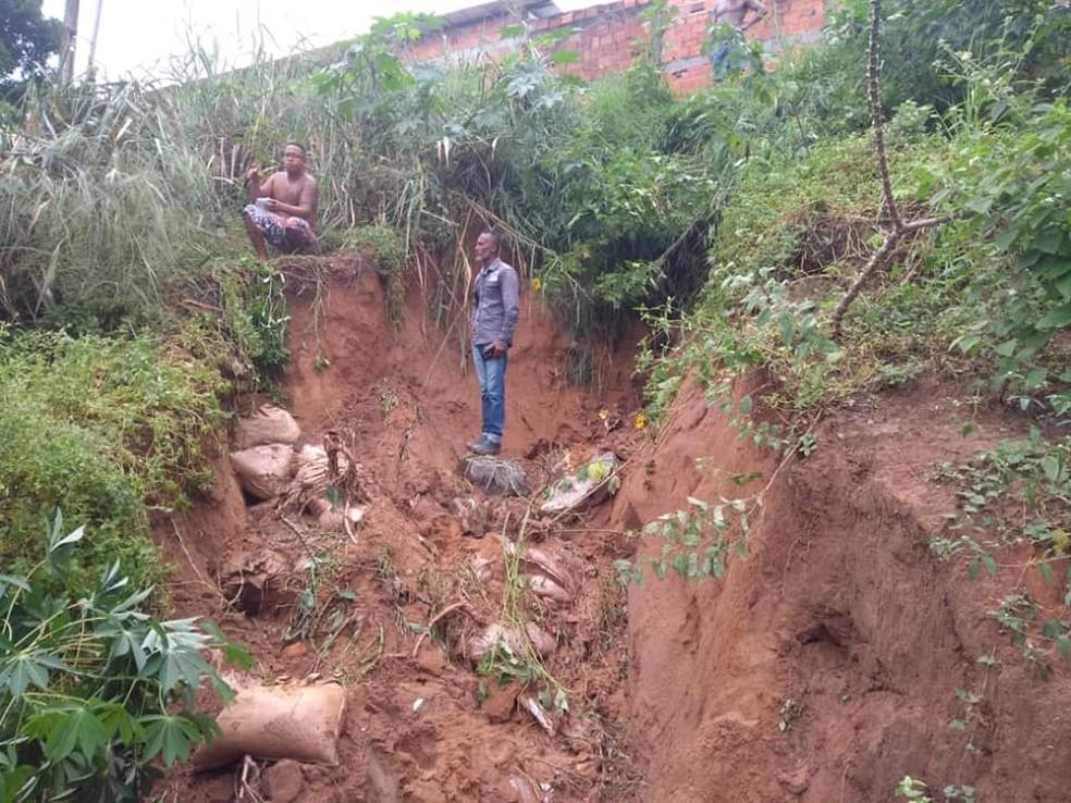 Após fortes chuvas, prefeitura de Simões Filho decreta situação de emergência — Foto: Divulgação