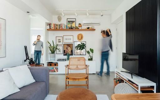 Compacto e essencial: apartamento tem de tudo em apenas 36 m²