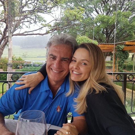 Bianca Rinaldi com o marido, Eduardo Menga (Foto: Reprodução Instagram)