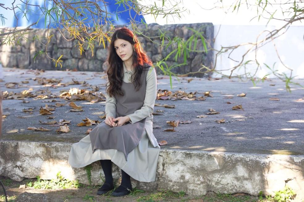 Após descoberta de gravidez, Maria Vitória será enviada ao Convento dos Santos Anjos (Foto: Adriano Melo/Globo)
