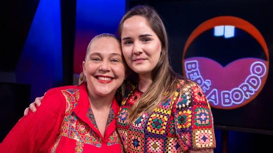Isabela Garcia e Beatriz Bertu se reecontram 30 anos após viverem mãe e filha em 'Bebê a Bordo'