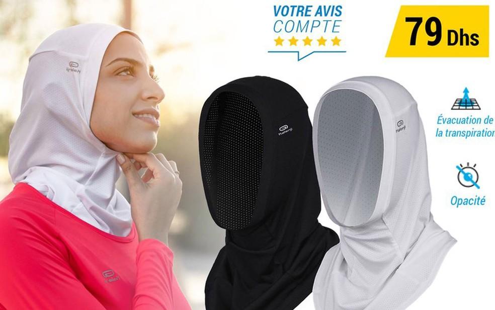250841835 ... comercializado A empresa pretendia vender o hijab em 49 países - no  Marrocos ele ainda é comercializado