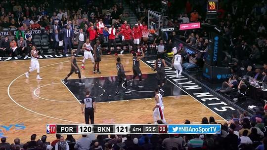Com grande atuação de Damian Lillard, Blazers batem os Nets na NBA