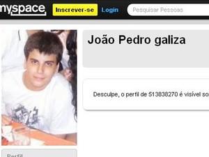 João Pedro Galiza Xavier também ingressou na Uerj no curso de Medicina através do sistema de cotas. (Foto: Reprodução / Facebook)